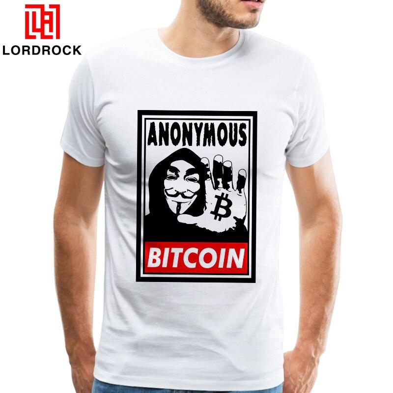 Moneda digital bitcoin logo Camiseta de manga corta hombres guapos ofensiva camiseta imperante envío de la gota del diseño camiseta del tamaño grande