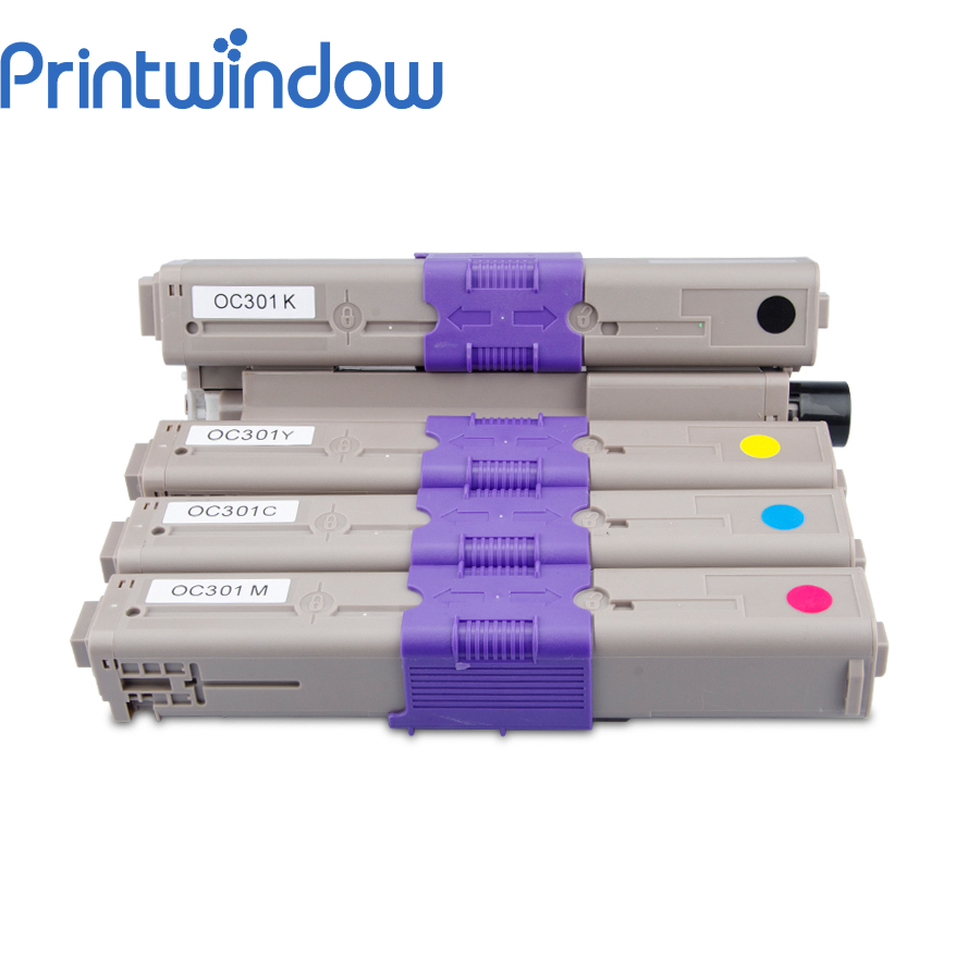 Printwindow Compatible Toner Cartridge for OKI C301/321DNPrintwindow Compatible Toner Cartridge for OKI C301/321DN