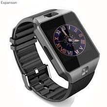 Espanson dz09 Sport Smart watch Sync Notifier Support Sim Card Bluetooth Connectivity Apple iphone Android Phone men Smartwatch