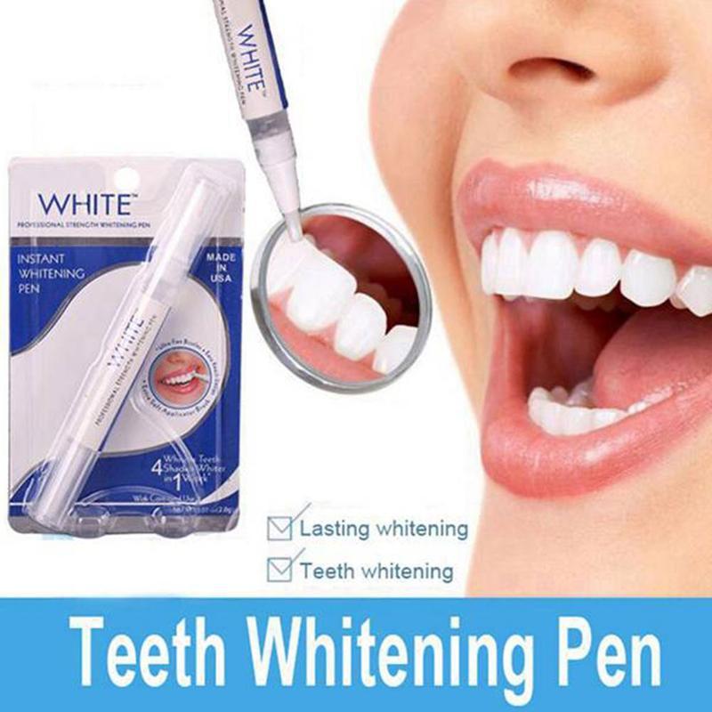 1 шт. белый Zahnaufhellung ослепительный стифте entfernen флекен белый мгновенный отбеливатель зубов ярко Белый Отбеливание зубов