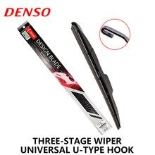 1pcs lot DENSO Car Windscreen Wipers Front Windshield Wiper Blades U type Universal U Hook Segmented