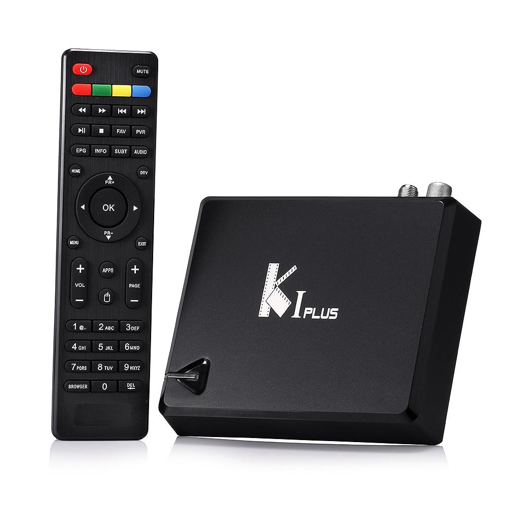 ФОТО K1 PLUS T2 S2 android tv box +dvb t2+s2 Amlogic S905 Quad core 64-bit Support DVB-T2 DVB-S2 1G/8G 1080p 4K Android 5.1 TV Box