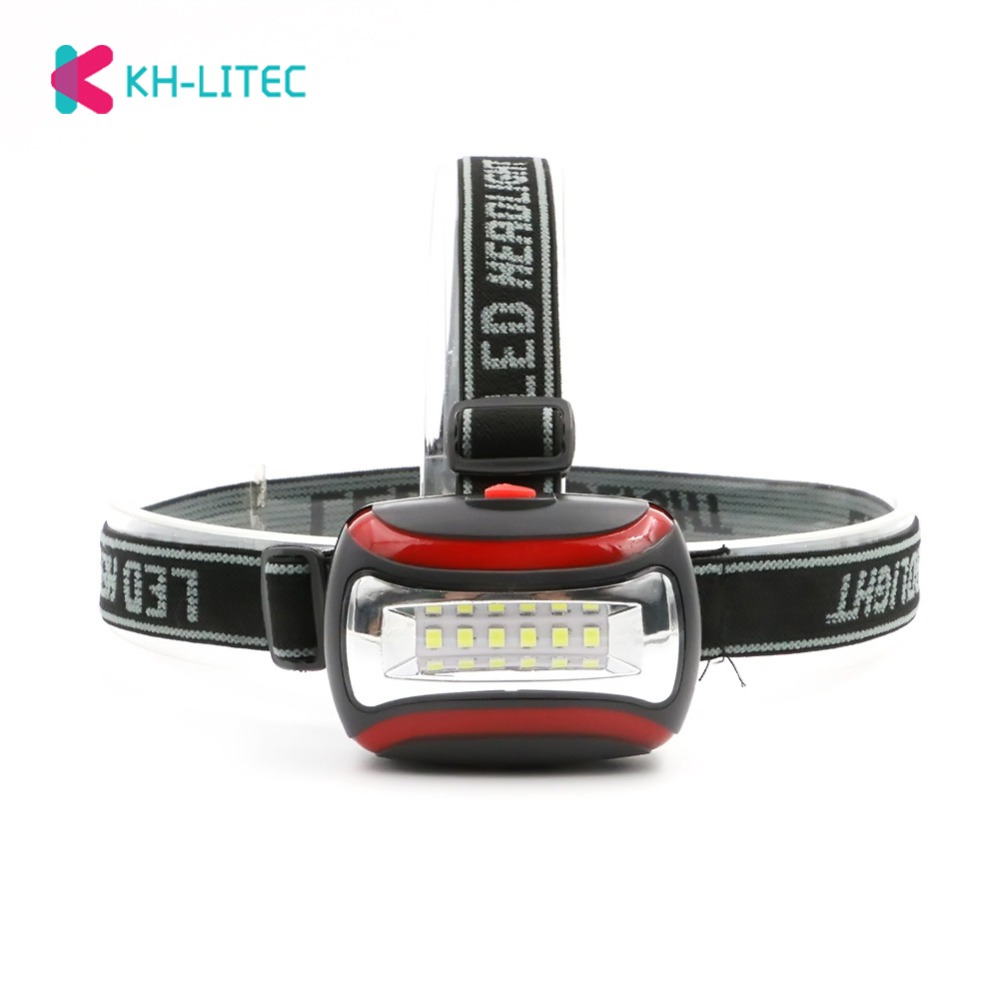 Mini 6LED Headlamp Headlight 3 Modes Forehead Flashlight Torch Lighting Waterproof Head Lamp Lantern For Outdoor Hunting Fishing