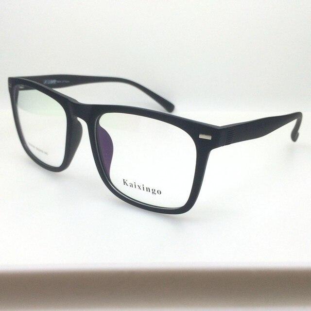 Online Shop Big frame eyeglasses optical eyeware glasses TR90 ...