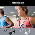 Bluetooth headphone wireless earphone sports earhook stable noise cancelling two device together music calling NFC pairing