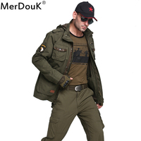 Men Jacket For Winter Jean Military Army Soldier Cotton Air Force One Male Brand Clothing Mens
