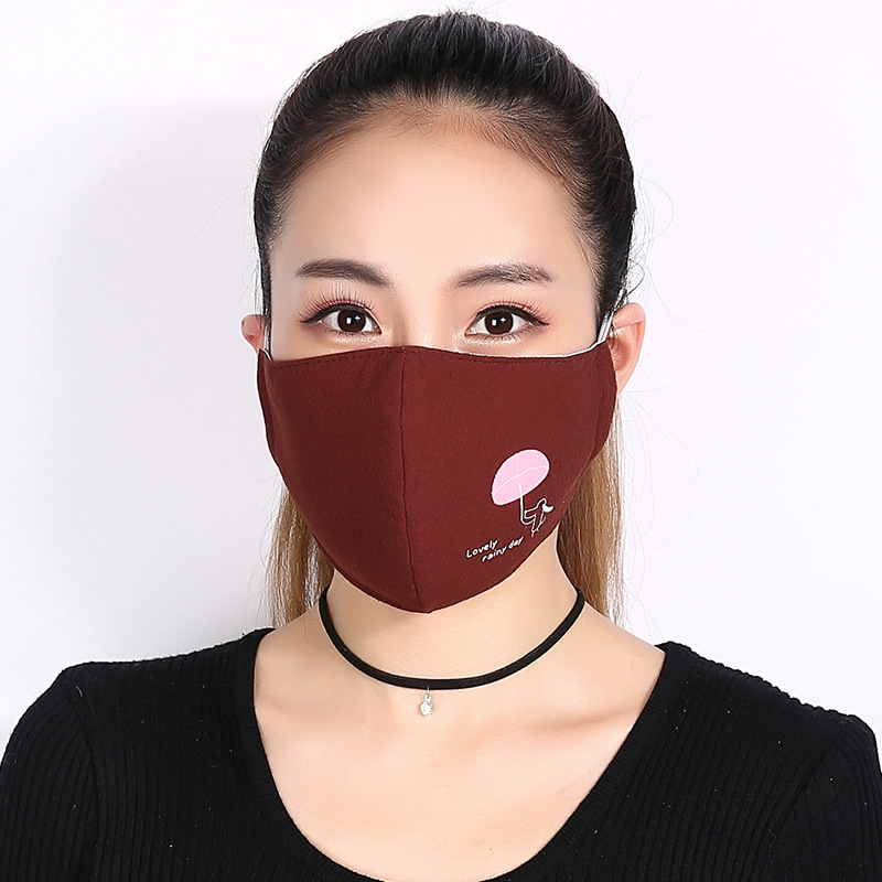 Three Masks breathing pack And Mask Fog Dimensional 99 Anti Mask Women Warm Thick Kpop Fashion 14 Us Breathing fog 5pcs Men Korean Mouth