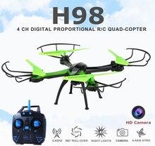 H98 jjrc rc quadcopter с камерой hd режим безголовый летит вертолет с камерой профессиональный дрон вертолет дистанционного управления drone