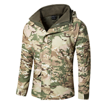 Men's G8 Waterproof Windbreaker Tactical Jacket Army Camouflage Winter Coat Warm Fleece inside Military Jacket Clothes S-3XL
