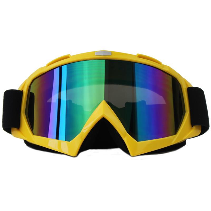 BLUR font b Motorcycle b font font b Goggles b font Helmet Accessories Single Lens Glasses