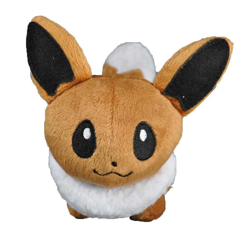 Action Figure Toy Innovation Eevee Anime Animal Stuffed Plush Toy Tiny Cute Toy 5inch ...