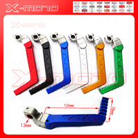 CNC Blue Kick Start Starter Lever For 50cc 110cc 125cc CRF XR YX Pit Dirt Bike