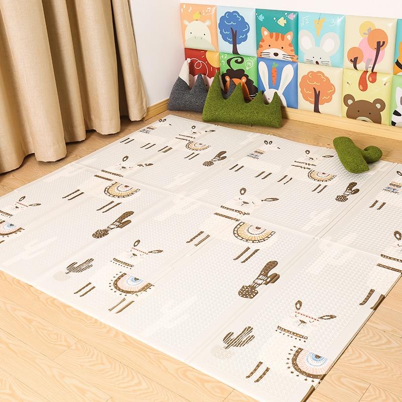 HTB1TdpdatzvK1RkSnfoq6zMwVXat XPE Baby Play Mat Crawling Mat Double Surface Baby Carpet Rug Developing Mat for Children Game Pad Game Pad Children Room Decor