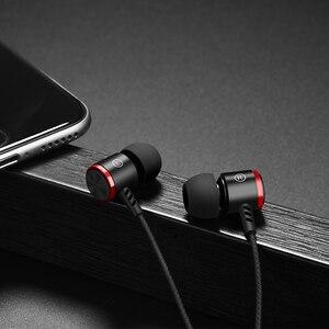 Image 4 - HOCO 이어폰 스테레오베이스 이어폰 헤드폰 3.5mm 잭 유선 제어 HiFi 이어폰 헤드셋 아이폰 Xiaomi 휴대 전화