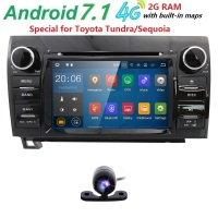 7 Inch 2 Din HD 1024x600 Quad Core Android 7 1 Car DVD GPS For Toyota