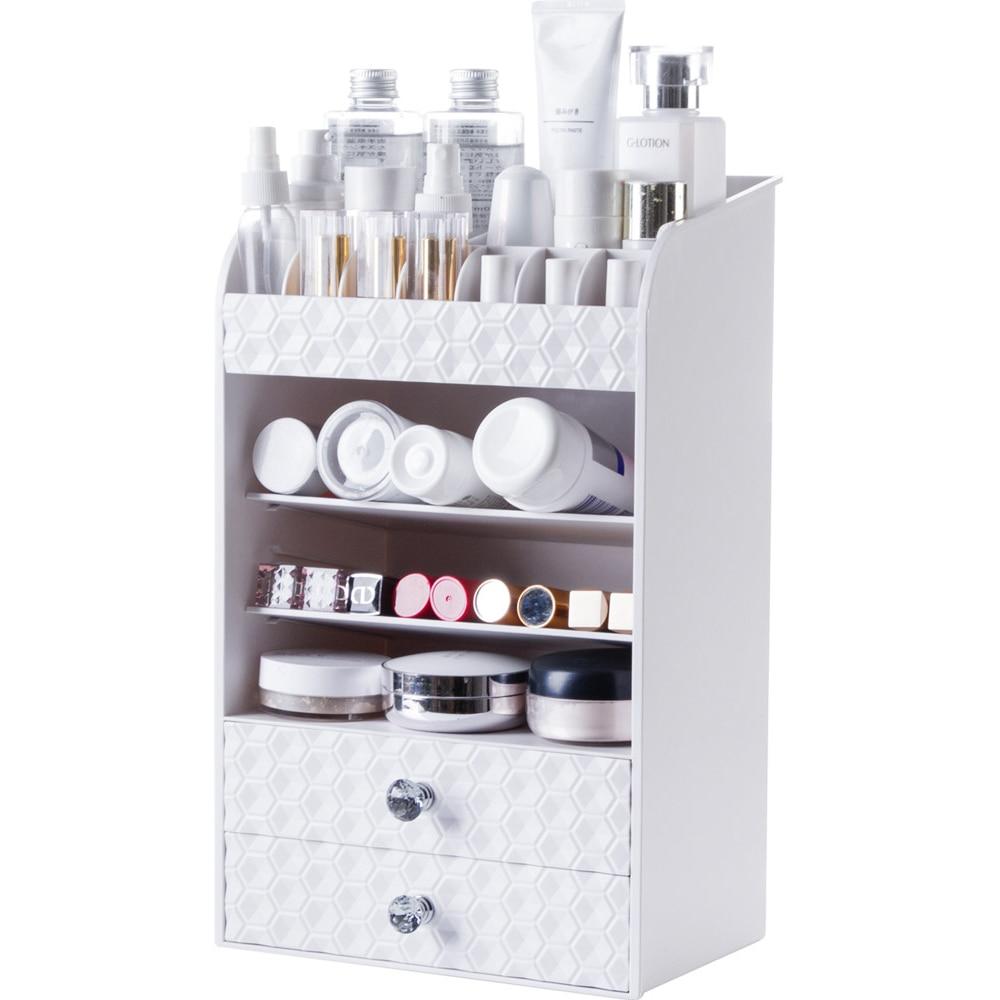 Drawer type cosmetics storage rack desktop lipstick rack multi-layer dressing ta