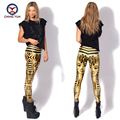 2016 women leggings hot fashion Egypt Queen printing free size elastic Lady leisure casual casual Leggings woman pencil pants