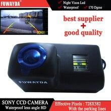 SONY CCD Автомобильная камера заднего вида для peugeot 206 207 306 307 308 406 407 5008 партнер Tepee с Направляющая линия
