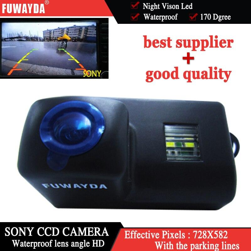 Levendig Fuwayda Sony Ccd Auto Achteruitrijcamera Reverse Camera Voor Peugeot 206 207 306 307 308 406 407 5008 Partner Tepee Met Gids Lijn Een Grote Verscheidenheid Aan Modellen