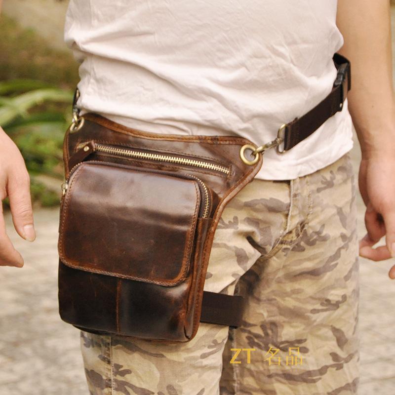 de couro pacote de cintura Tipo de Ítem : Messenger Bags, waist Packs