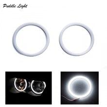 цена на 4pcs Super white 106mm E46 2D SMD Led angel eyes halo rings for BMW E46 Coupe 2D E46 Cabrio LED headlight car accessories