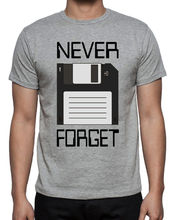 Never Forget Floppy Computer Disk Funny Geek Nerd Mens Novelty Grey New T-Shirt Fashion Men And Woman T Shirt Free Shipping