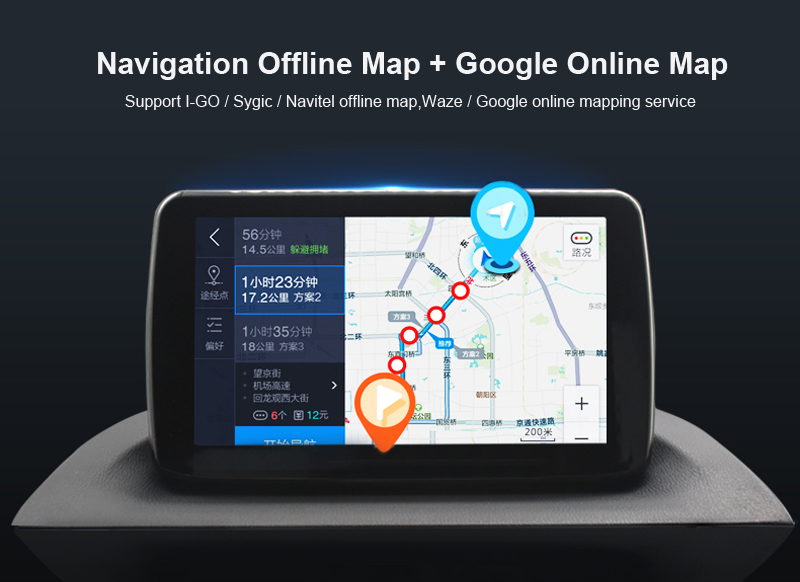 ANDROID 6.0 CAR DVD 2DIN CAR RADIO GPS hyundai creta ix25 (2)