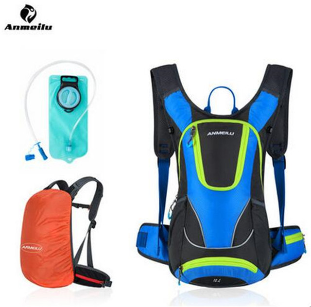 ANMEILU Waterproof Women Men 12L Backpack Lightweight Outdoor Cycling Rucksack Camping Hiking Sports Bag