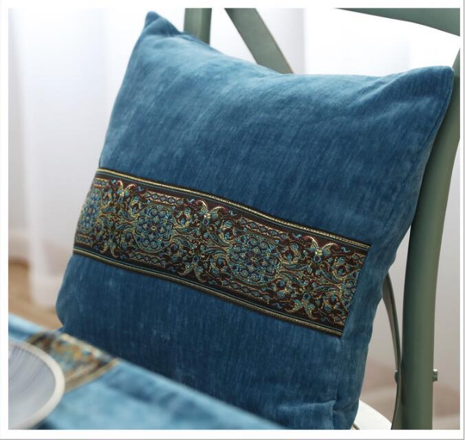 Fyjafon 2pcs Pillow Cover Home Decorative European Pillow Case 45*45cm/60*60cm