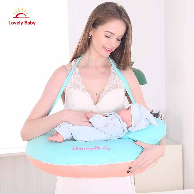 2f8e8ad84 2018 New Newborn Pillow Baby Mom Nursing Support Hot Selling 2Pcs Breastfeeding  Pregnancy Maternity Pillow Cuddle