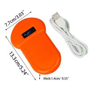 Pet ID Reader Animal Chip Digital Scanner USB Rechargeable Microchip Handheld Identification General Application F42D