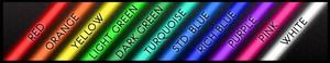 Image 4 - Personnalisé offrez vous bleu blanc rouge rose bleu profond violet Turquoise vert jaune verre néon barre de bière