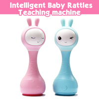 0~3 years Alilo bunny R1 Intelligence Baby toys Rattles mp3 music/story player for newborn change English language toy & hobbies