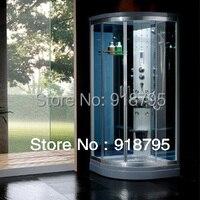 Роскошный паровой душ корпуса Струйный душ для ванной кабины летают массаж прогулки в сауны 900X900X2150mm 8838