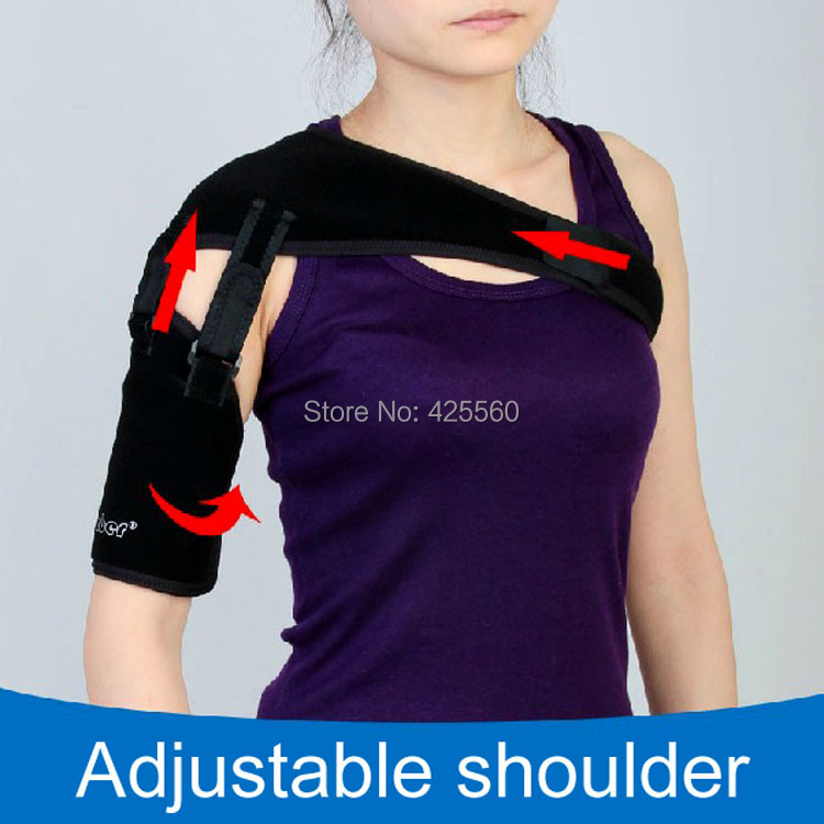 Medical Shoulder Support & Brace Strap Orthosis For Subluxation Stroke Hemiplegia Recovery Dislocation hand wrist orthosis separate finger flex spasm extension board splint apoplexy hemiplegia right left men women
