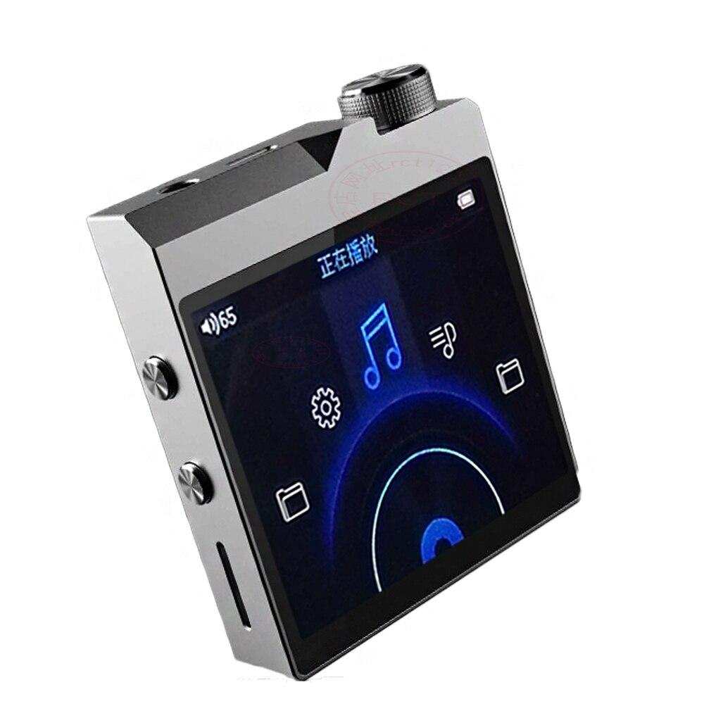 Alta qualidade DIY QNGEE X2 MP3 Bluetooth 4.1 de Música Sem Perdas DIY MP3 HiFi Music Player Suporte MAX 256 GB TF Cartão expansão