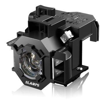 Wysokiej jakości ELPLP41 V13H010L41 do projektora Epson S5 S6 S6 + S52 S62 X5 X6 X52 X62 EX30 EX50 TW420 W6 77C lampa projektora z obudową tanie i dobre opinie Replacement projector lamp 150Days S5 S6 77C 8 EMP-S5 EMP-X5 H283A HC700 H284B EMP-X52 EMP-S52 EH-TW420 2500H