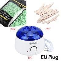 Cây trà hương vị sáp Cứng Đậu 250 gam Lau Gậy MINI SPA tay Máy Cạo Lông Hot Sáp Ấm Heater Pot Waxing Thuốc Làm Rụng Lông Bikini Set