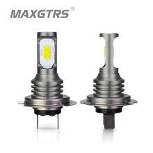2x H1 H3 H7 H8 H11 9005 HB3 9006 HB4 H16 3570 чип CANBUS светодиодная лампочка для автомобилей Светодиодный Противотуманные фары DRL лампы белый 6000 K золото