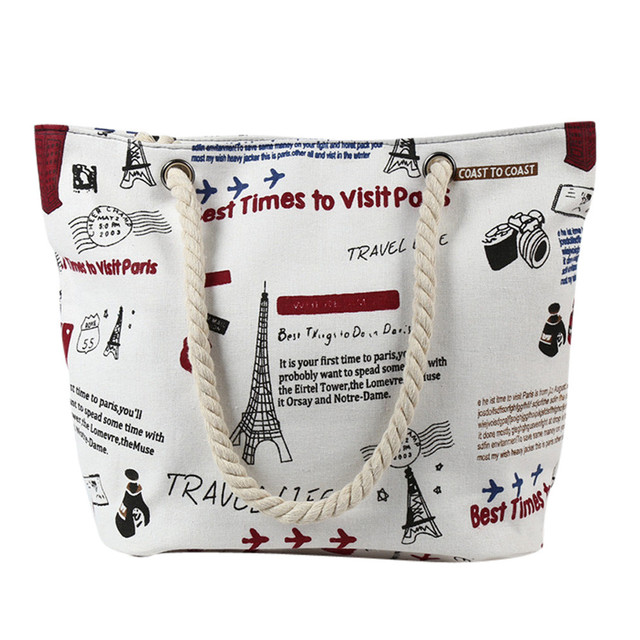 Canvas Tote Women'S Print...