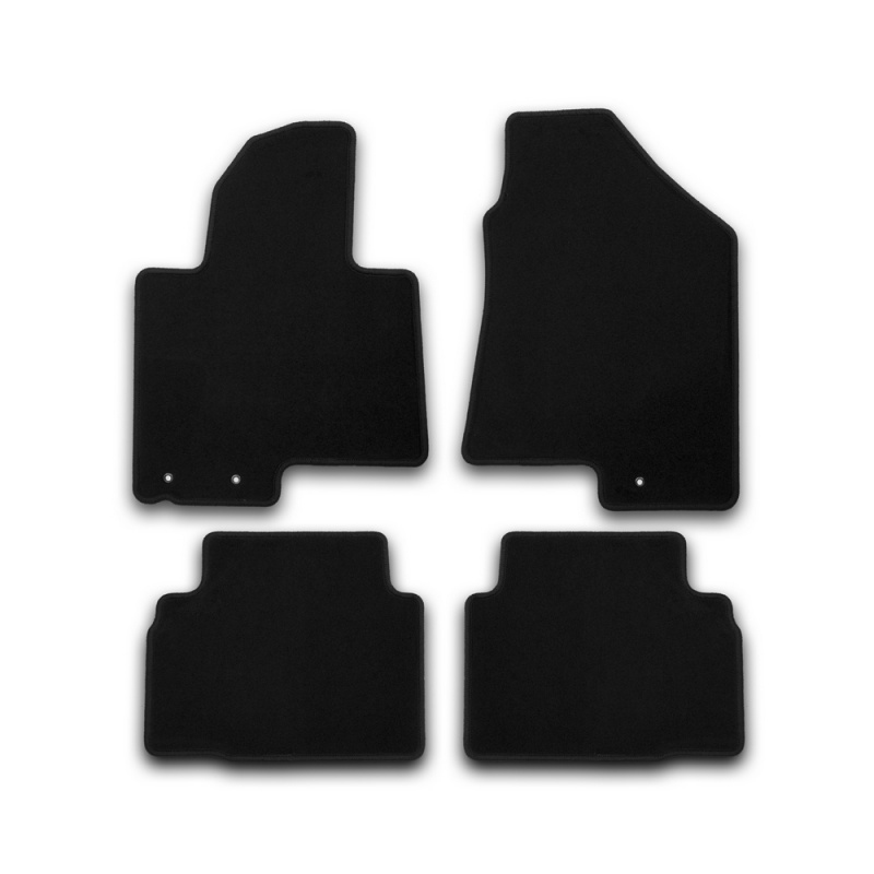Фото - Car Mats 3D salon For NISSAN X-Trail, 01/2007-12/2015, cross... right steering wheel, 4 PCs (polyurethane) rs04s 01 electronic heating steering wheel cover