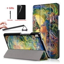 Trifold PU Case For Lenovo Tab 4 8 plus TB-8704F TB-8704N TB-8704X Slim Magnetic Tablet Cover For lenovo tab 4 8 plus Case Funda