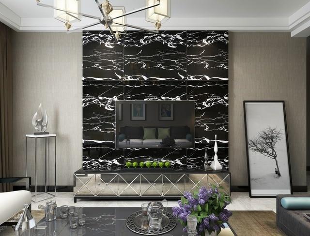 Piedra diseño decorativo Películas PVC autoadhesivo papel de pared ...