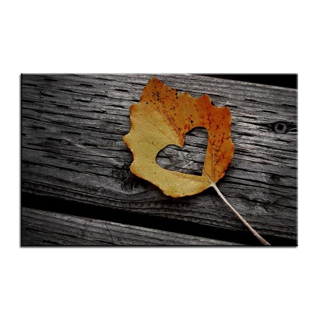 Autumn Leaf Canvas Poster