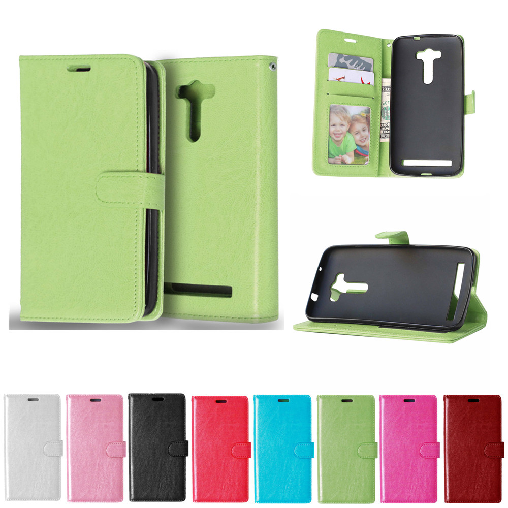 Flip Case for ASUS Zenfone 2 laser ZE550KL Case Phone Leather Cover for ASUS Z00LD <font><b>ZE</b></font> ZE550 <font><b>550</b></font> 550KL <font><b>KL</b></font> ASUS_Z00LD Cases Bag image