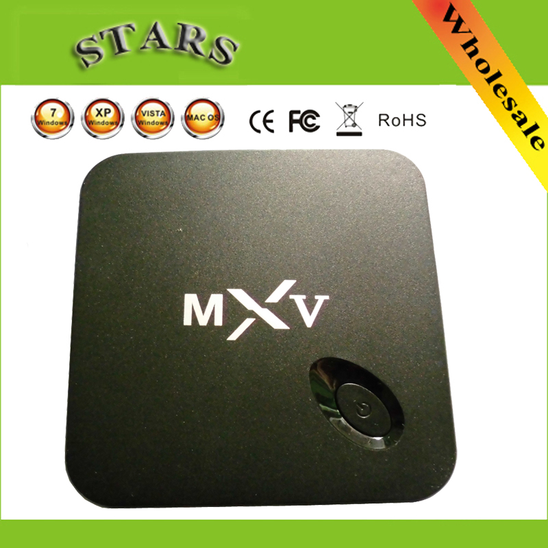 MXV Quad Core Android TV BOX Amlogic S805 1GB/8GB Cortex 1.5 GHZ Android 4.4 KODI XBMC Load WIFI Airplay H.265 HEVC Media Player original m8s android tv box amlogic s812 quad core gpu mali450 2g 8g kodi xbmc media player 2 4g 5g wifi with air mouse keyboard