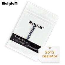 MCIGICM 1W 100pcs 2512 smd chip resistor 100 resistors 0R 22M 10K 100K 100R 1R 150R