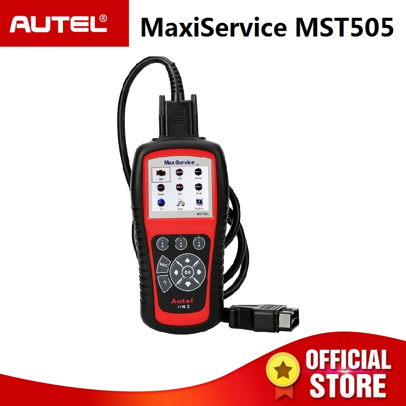 Autel MST505 сканер для VW/Audi/Seat/Skoda всех систем OBDII диагнозы масла & EPB сервис печати данных жизни бесплатное обновление