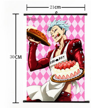 The Seven Deadly Sins  Wall Picture  21cmx30cm