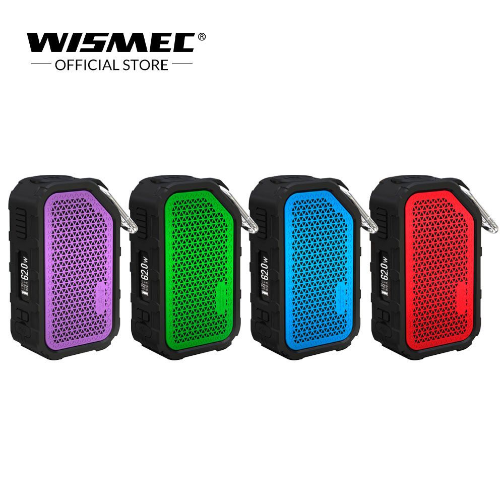Official Store Wismec Active 80W BOX MOD Bluetooth Speaker Waterproof Vaporizer Fit AMOR NS NSE